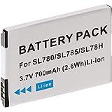 Helos 23845 Lithium-Ion 830mAh 3.7V rechargeable battery - rechargeable batteries (Lithium-Ion, Navigator/Handheld mobile computer/Mobile phone, Black, White, SL780, SL785, SL788, SL78H, SL400, SL400A, SL400H, Siemens Gigaset) preiswert