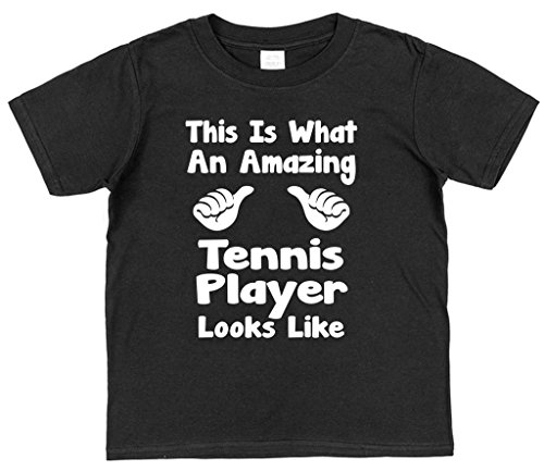 This Is What An Amazing Tennis Player Looks Like Children's 100% Cotton T-Shirt