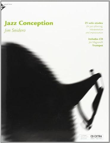 Jazz Conception for Trumpet - 21 solo etudes for jazz phrasing, interpretation and improvisation - trumpet - method with mp3 CD - [Language: English & German] - (ADV 14722)