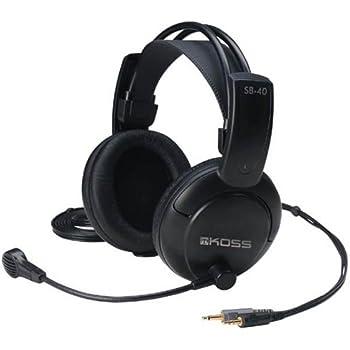 Koss SB40 Computer Gaming Headset - Black