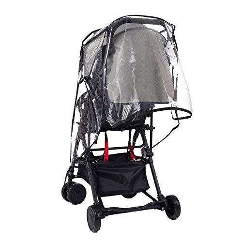 75a4e3c64 Wemk Protector de lluvia universal para silla de paseo, Burbuja de ...
