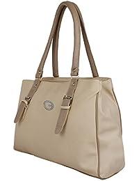 NIYANK Women's Designer Handbag | Cream Color Handbags | Cream Bags | Bag For Girls | PU Leather Girls Bags |...