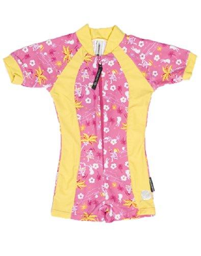 Stingray Mädchen UV Schwim Anzug Swimsuit, Aqua/Yellow, 92, ST3009H/2 Preisvergleich