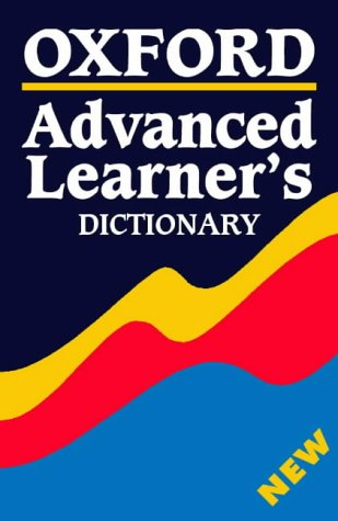 Oxford Advanced Learner's Dictionary with cd-rom