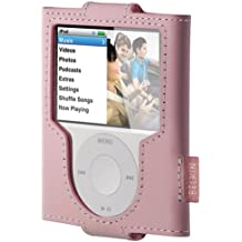 Belkin Leather Sleeve for iPod nano 3G - Pink Rosa - fundas para mp3/mp4