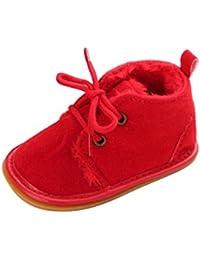 6c8ba6dfd0d39 Malloom Bebé Niño Infantil Nieve Botas Zapatos Suela de Goma Cuna Prewalker