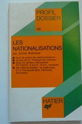 Les nationalisations