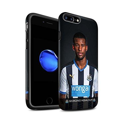 Officiel Newcastle United FC Coque / Matte Robuste Antichoc Etui pour Apple iPhone 7 Plus / Ayoze Design / NUFC Joueur Football 15/16 Collection Wijnaldum