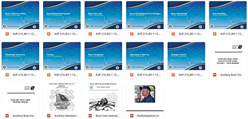 United States Coast Guard Auxiliary Program of Study Course Materials AUP 210 - Boat Operations (English Edition) - United States Coast Guard Auxiliary
