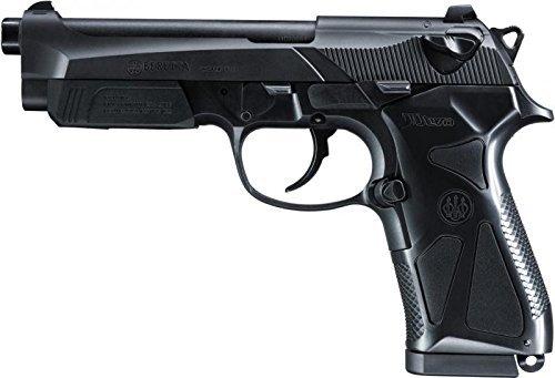 g8ds Set: Softair Two Pistole Beretta 90 Federdruck Bio Softairkugeln 6mm 0,20g 2000 BBS (Luftpistole Beretta)