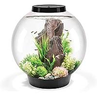 biOrb Classic Aquarium, 50x 52cm, 60Liter, schwarz, LED-Licht