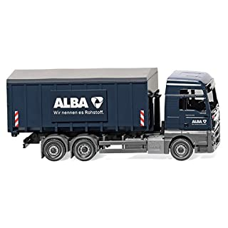 Wiking H0 Abrollcontainer ALBA