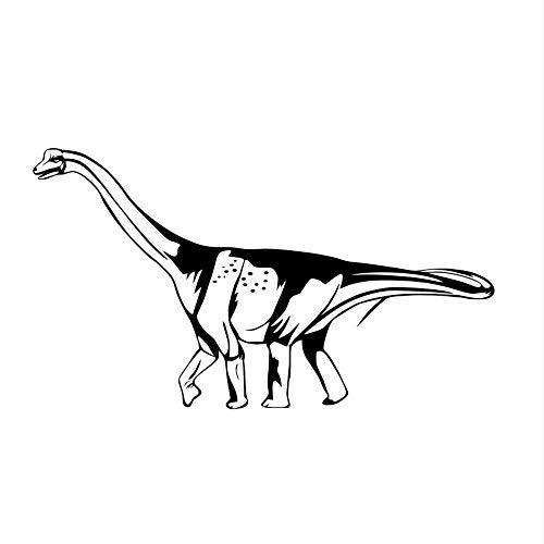 mzdzhp Wandaufkleber Hohe qualität dinosaurier stick auf diy wandaufkleber für kinderzimmer aushöhlen abnehmbare vinyl aufkleber poster wandkunst wohnkultur 103 * 58 cm -