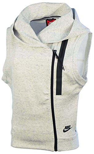 Nike Tech Fleece di gilet grau (DK GREY HEATHER///DARK SHADOW)