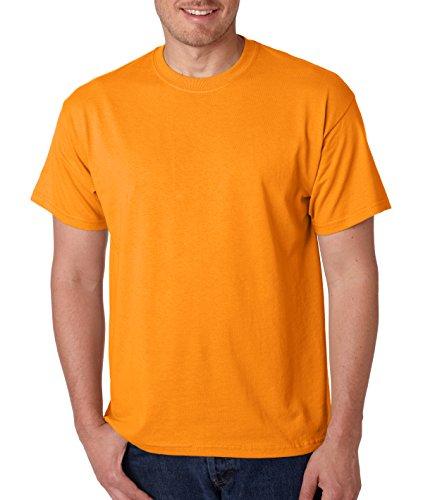 Gildan Herren T-Shirt Orange(Tennessee Orange) XXX-Large (Tennessee-crew-t-shirt)
