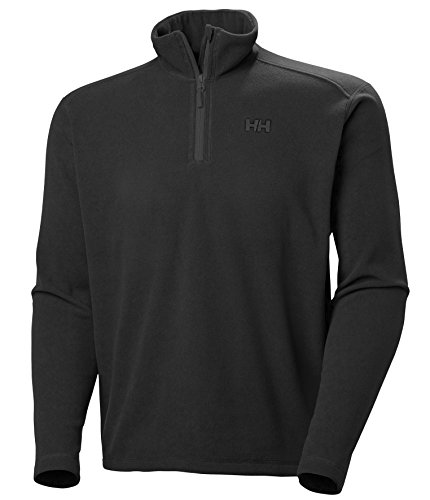 Helly Hansen Herren Fleece Daybreaker 1/2 Zip, Black, XL, 50844
