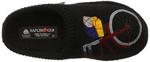 Haflinger - Flair Radl, Scarpe da ginnastica Unisex – Adulto nero (nero)