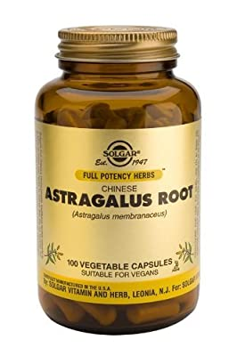 Solgar-Chinese Astragalus Root Vegetable Capsules 100 by Solgar Vitamins and Herbs