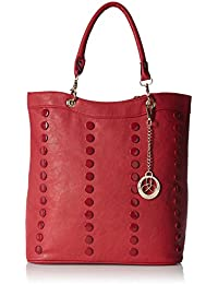 Ladida Ladida Collection Women's Handbag With Pouch (Red) (Set Of 2) (2017-1 RED)