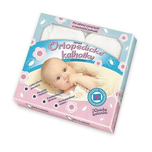 Moravek orthopädische Spreizhose für Babys | Windelhöschen, Gewebehöschen mit Spreizeinlage | Größe: 0-3 Monaten