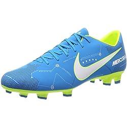 Nike Mercurial Victory VI NJR FG, Scarpe per Allenamento Calcio Uomo, Turchese (Blue Orbit/White/Blue Orbit/Armory Navy/Volt/Volt), 43 EU