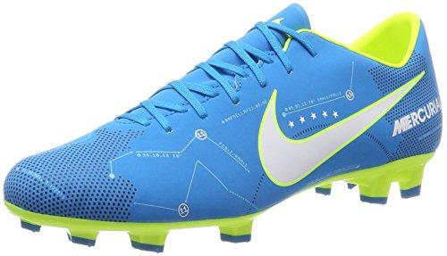 Nike Unisex-Erwachsene Mercurial Victory VI Neymar FG 921509 40 Sneaker Mehrfarbig (Indigo 001) 44 EU