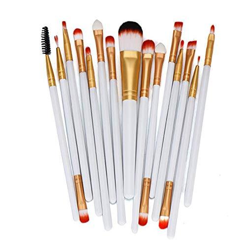 Maquillage Pinceau, Tonsee Fashion Exquis 15pcs / setSet Outils Kit De Trousse De Toilette Maquillage Laine Maquillage Brush Set