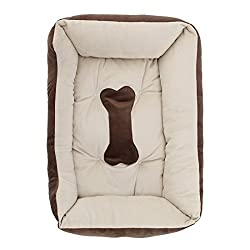 XXS , coffee : Pet nest - TOOGOO(R) Extra Large Luxury Washable Pet Dog Puppy Cat Bed Cushion Soft Mat Warmer Basket Color:coffee Size:XXS