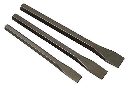 Preisvergleich Produktbild Aerzetix: Set von 3 Meißel -Größe Stein Splinttreiber Size-Zement Ziegel zu Stein Arbeit / Skulptur / DIY