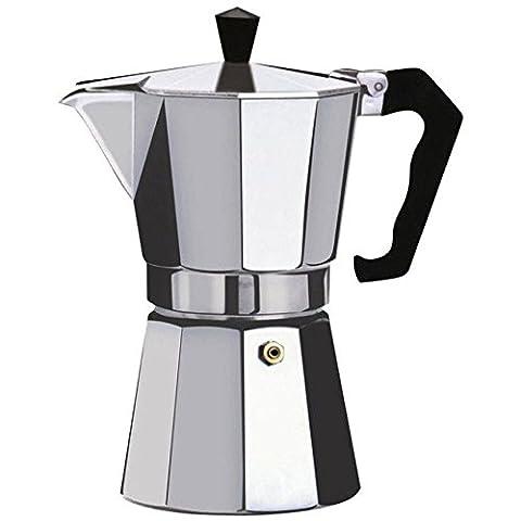 Sweety Maison Espresso pour dessus de poêle à café–CONTINENTAL Moka Percolateur Pot–2, 6, 9, 12, 2 cup / 175ml