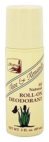 Alvera - Alle natürlich Rollen-Auf Mittel-Aloe u. Mandeln - 3 Unze. (Alvera Aloe)