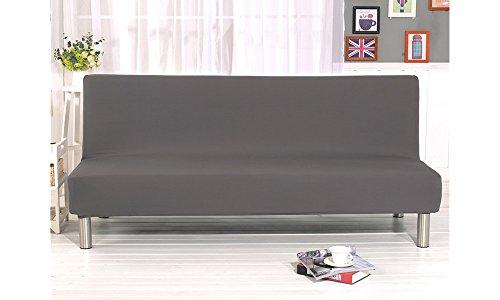 Fodera per divano senza braccioli tinta unita Stretch Fodera per ...
