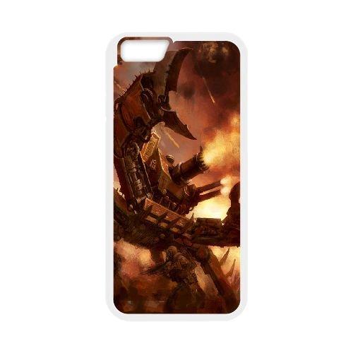 Defiler Warhammer 3 coque iPhone 6 Plus 5.5 Inch Housse Blanc téléphone portable couverture de cas coque EBDXJKNBO10801