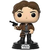 Funko Pop! -Han Solo Star Wars: Red Cup Figura de Vinilo, (26974)