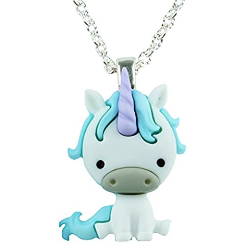 TFB - MAGICAL FOREST NOAH THE UNICORN PENDANT NECKLACE - GIFT BOX AVAILABLE