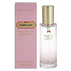 Victorias Secret Eau de Toilette, Sheer Love, 1 Ounce by Victorias Secret
