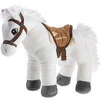 Bibi & Tina 637573–Caballo, sabrina pie, color blanco/marrón - Peluches y Puzzles precios baratos