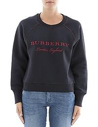 BURBERRY Women's 4052979 Blue Cotton Sweatshirt