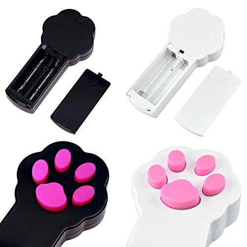 confronta il prezzo GIMARS Luce LED Interattiva Luce Indicatore Esercizio e Allenamento per Animali Domestici Strumento Giocattolo per Gatti Cani Set da due miglior prezzo