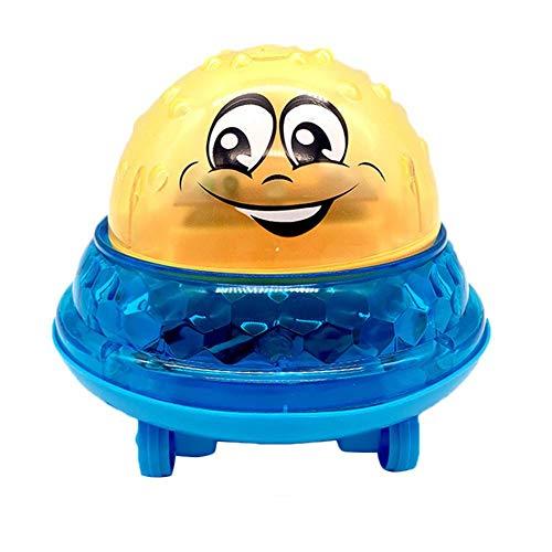 Luerme Elektrische automatische Induktionssprinkleranlage Ball Light Babyspielbad WaterToys für Kinder Spaß im Freien im Garten Hinterhof, Beach Party, Schwimmbad mit Musik und Beleuchtung -
