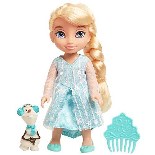 Frozen 9034 Die Die Eiskönigin Kleine ELSA mit Olaf, 15 cm