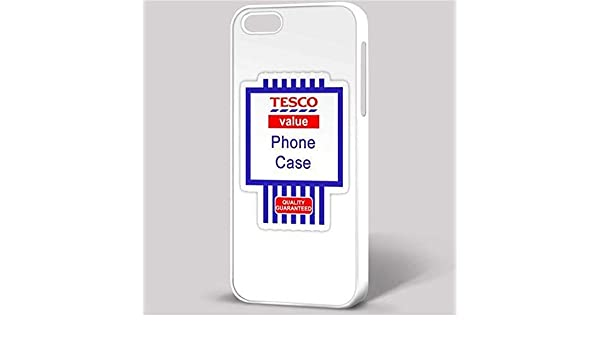 new arrivals fe447 a843f Tesco Value Phone Case Funny Ironic Quirky fits iPhone: Amazon.co.uk ...