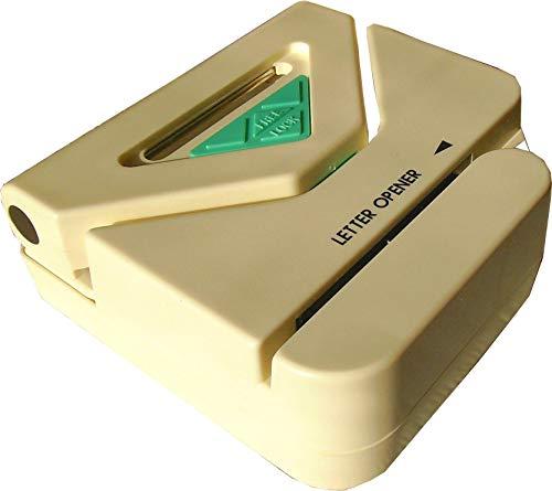 Artline EVIT LO310 Brieföffner elektrisch mit Locher mechanisch viereckig weiß und grün BZW. schwarz Kombigerät