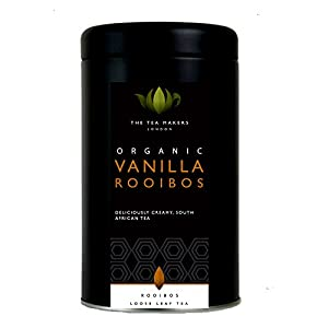 The Tea Makers of London Vanilla Organic Rooibos 125 g Caddy