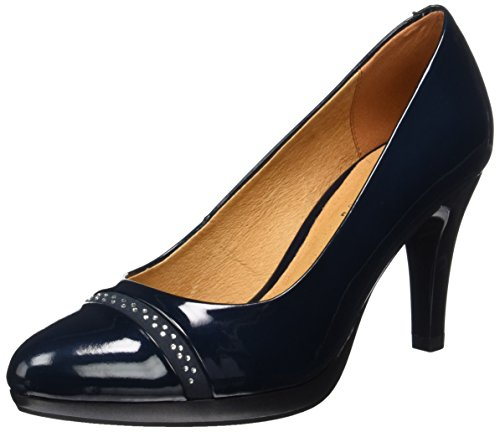Caprice Damen 22412 Pumps Blau