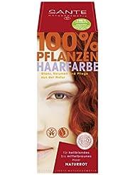 SANTE Naturkosmetik Pflanzen-Haarfarbe Pulver, 100% Natürlich (100 g)