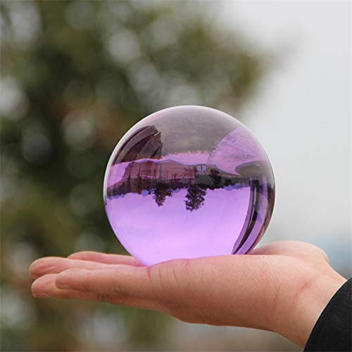 Fotografie Kristallkugel Ornament Fengshui Globus Wahrsagerei Quarz Magic Glass Ball Home Decor - Quarz-kristall-globus
