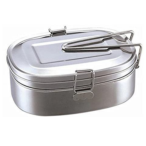 Stainless Steel Lunch Box - Déjeuner WinCret multifonction Canteen Student