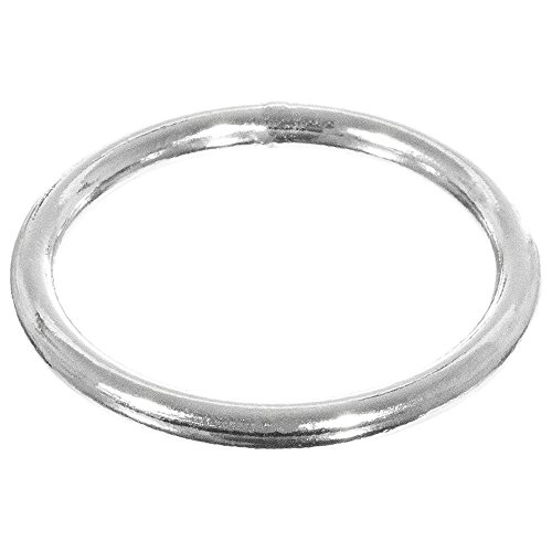 PARACORD PLANET Welded O-Rings - Various Sizes - 5, 10, 25, 50, 100 Pack Options O-ring Stl