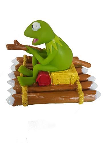 Jim Henson Igel Quietsche Ente Kermit auf Floß Kermit Quietsche Figur